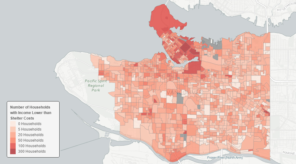Vancouver Map Featured Visual Capitalist