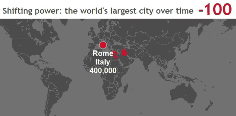 These 3 Animated Maps Show The History Of The World S Largest Cities