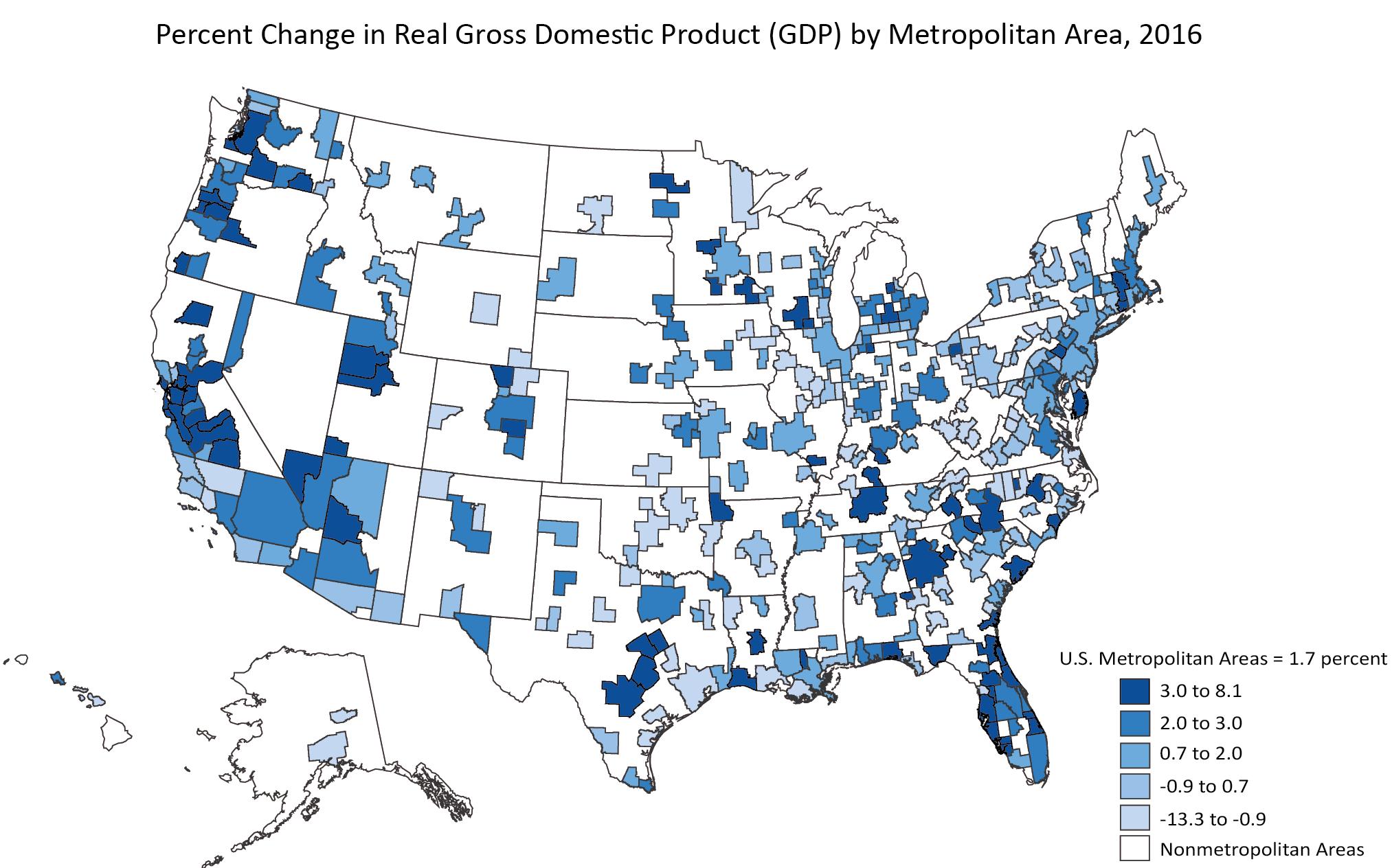 U.S. metro areas