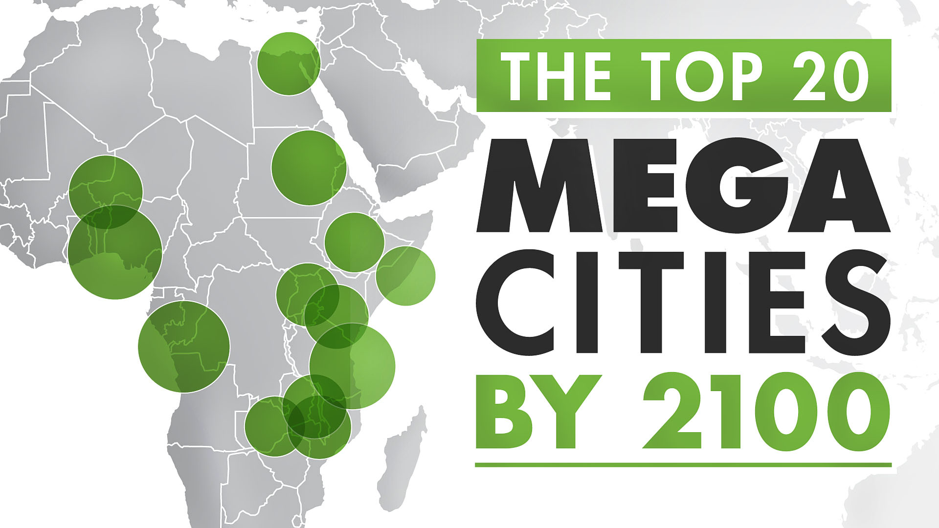 Bitcoin Cloud Mining >> Animation: The World's Largest Megacities by 2100