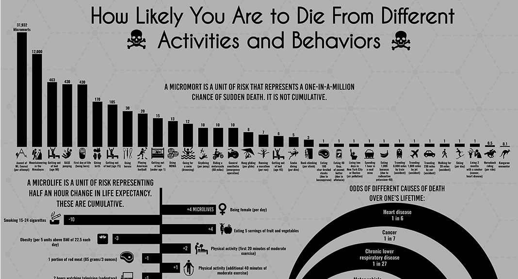 Infographic Crunching The Numbers On Mortality