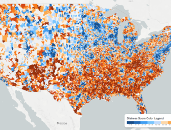 The Geography of America's Distressed Communities