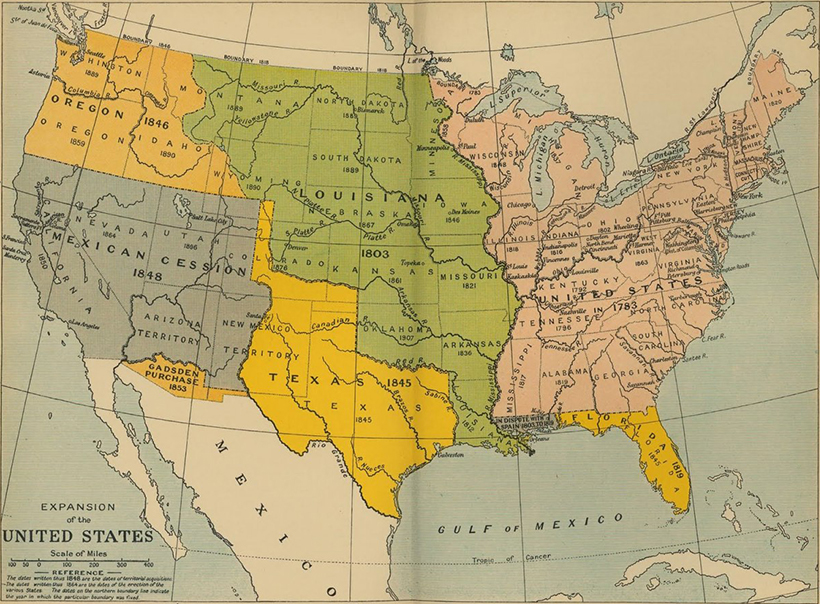 us territorial expansion map