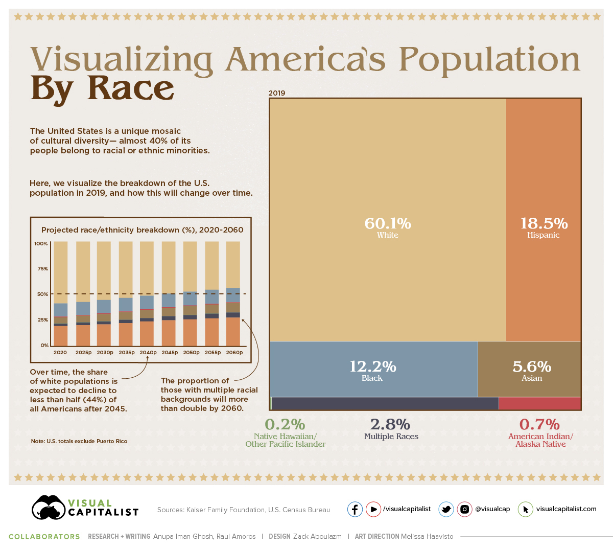 Visualizing US Population by Race