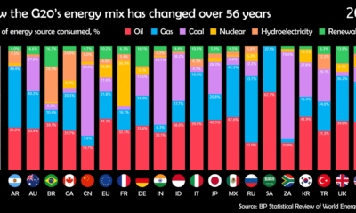 G20 Energy Mix share